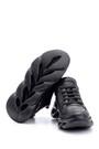 5638114847 Kadın Taban Detaylı Deri Sneaker
