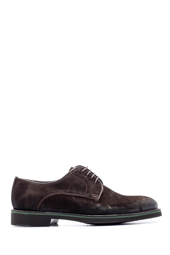 Kahverengi Erkek Süet Deri Ayakkabı 5638080635