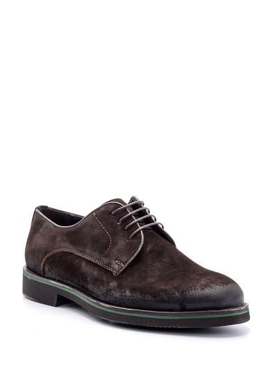 Kahverengi Erkek Süet Deri Ayakkabı 5638080615