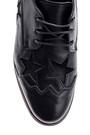 5638094069 Kadın Yıldız Desenli Dolgu Topuklu Ayakkabı