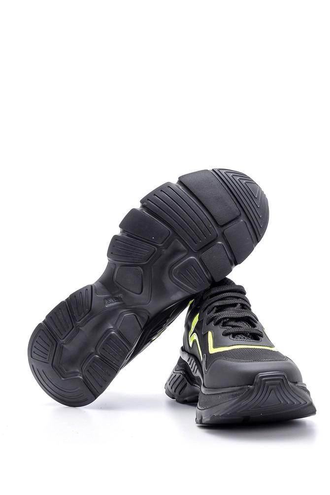 5638094684 Erkek Yüksek Tabanlı Deri Sneaker
