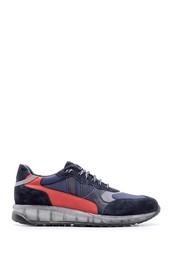 5638094707 Erkek Şeffaf Tabanlı Deri Sneaker