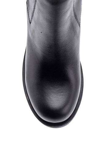 Kadın Topuklu Deri Bot