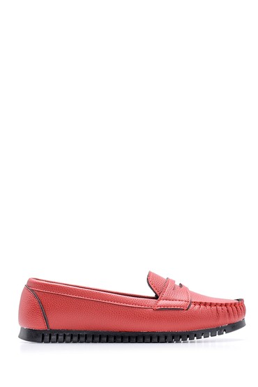 Kırmızı Kadın Loafer 5638114659