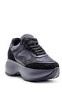 5638113864 Kadın Yüksek Tabanlı Deri Sneaker
