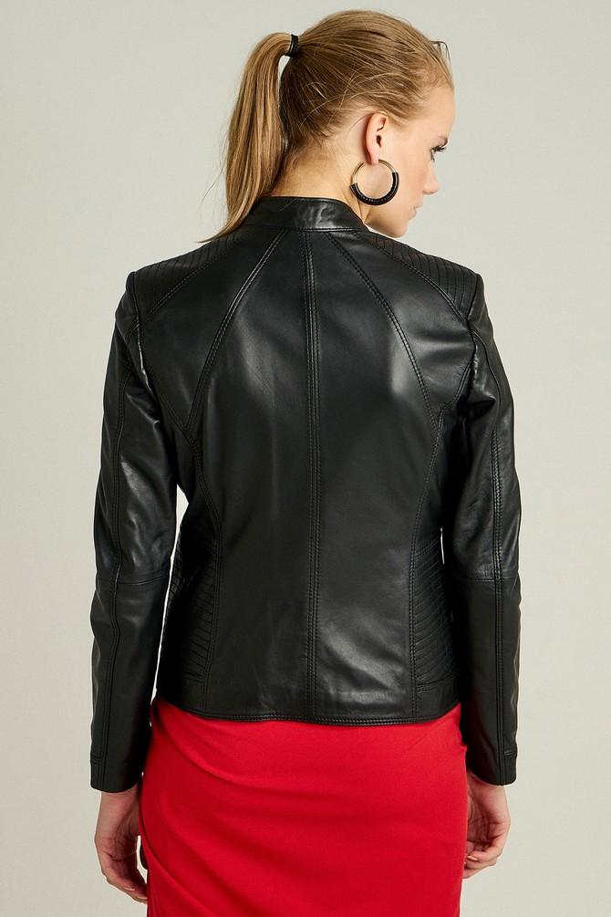 5638087250 Norma Kadın Deri Ceket