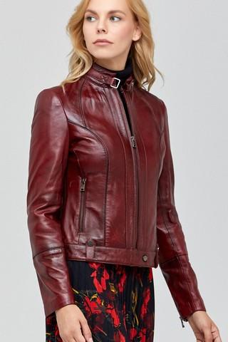 Irma Kadın Deri Ceket