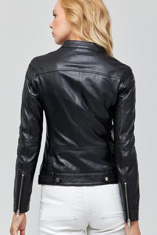 Mystery Kadın Deri Ceket