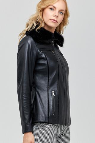 Vanessa Kadın Deri Ceket
