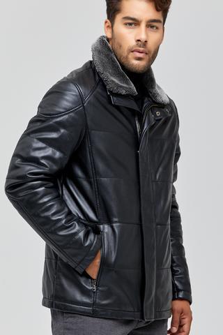 Jerry Erkek Deri Ceket