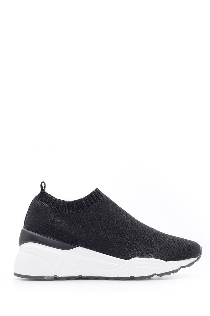 Siyah Kadın Sneaker 5638090206