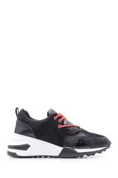 5638090266 Kadın Yılan Deseni Detaylı Sneaker