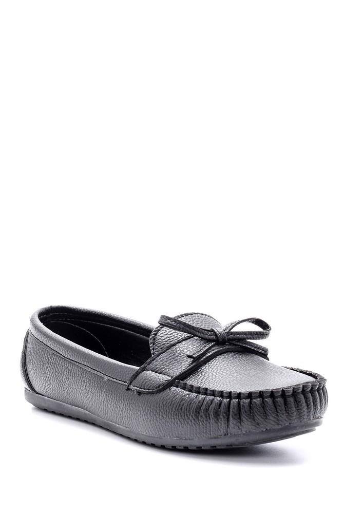 5638118886 Kadın Fiyonk Detaylı Loafer