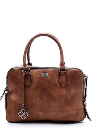 Kadın Fermuar Detaylı Çanta