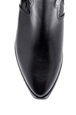 Kadın Kroko Detaylı Topuklu Bot