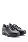 5638085997 Erkek Kroko Detaylı Deri Sneaker