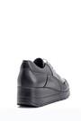 5638087168 Kadın Dolgu Topuklu Deri Ayakkabı