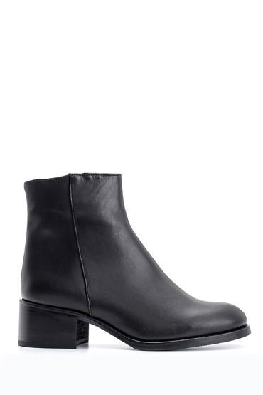 Siyah Kadın Topuklu Bot 5638088097
