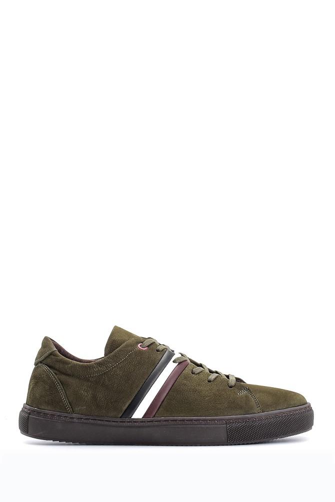 Yeşil Erkek Deri Sneaker 5638103746