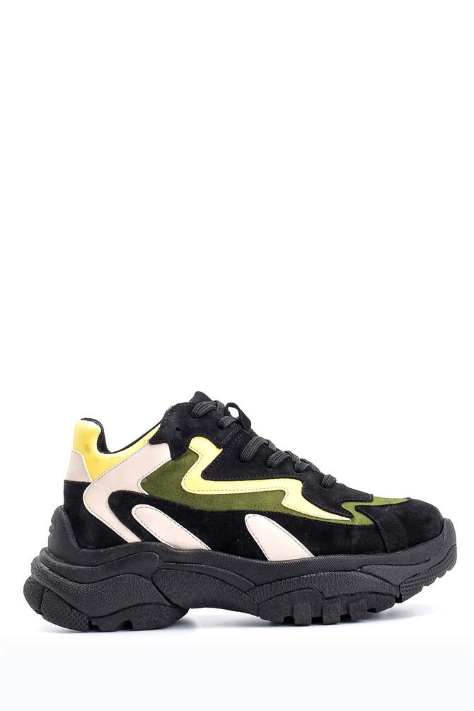 Siyah Kadın Yüksek Tabanlı Sneaker 5638103148