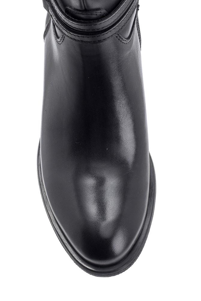 5638091403 Kadın Deri Çizme