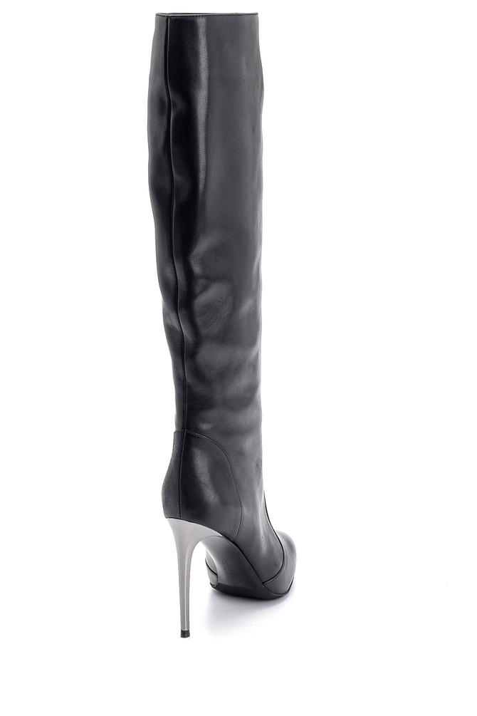 5638098337 Kadın Topuklu Çizme