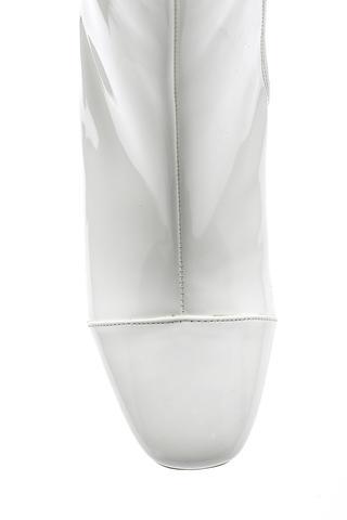 Kadın Topuklu Rugan Deri Bot