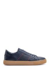 5638105639 Erkek Casual Deri Sneaker
