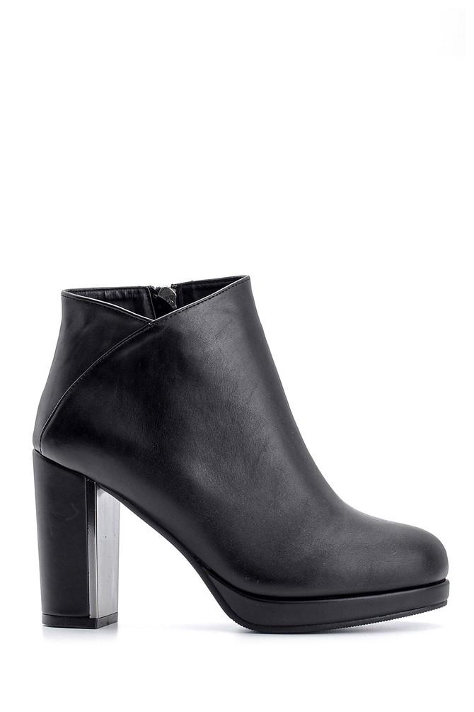 Siyah Kadın Topuklu Bot 5638105407