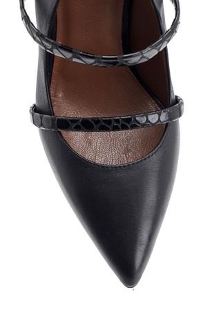 Kadın Deri Topuklu Ayakkabı