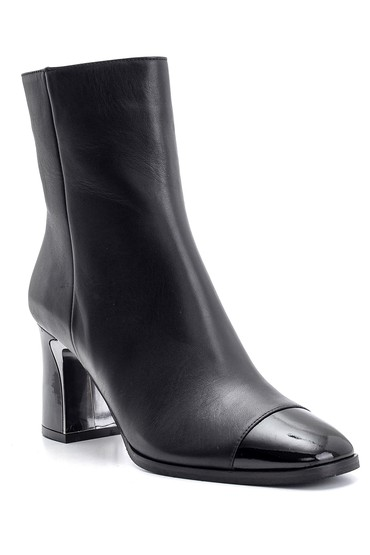 Siyah Kadın Deri Topuklu Bot 5638108508