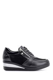 5638116027 Kadın Fermuar Detaylı Spor Ayakkabı