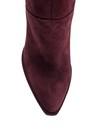 5638114961 Kadın Topuklu Süet Deri Çizme