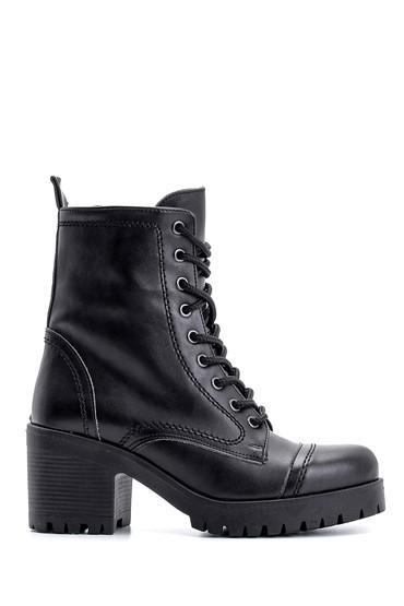 Siyah Kadın Topuklu Bot 5638122481