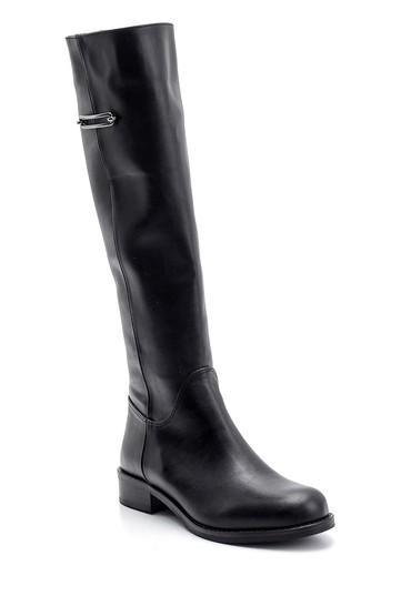 Siyah Kadın Detaylı Çizme 5638102107