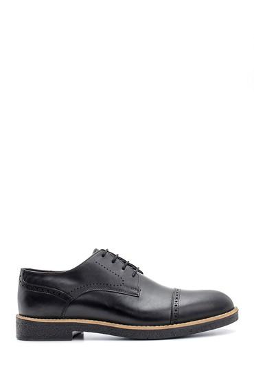 Siyah Erkek Deri Ayakkabı 5638115921