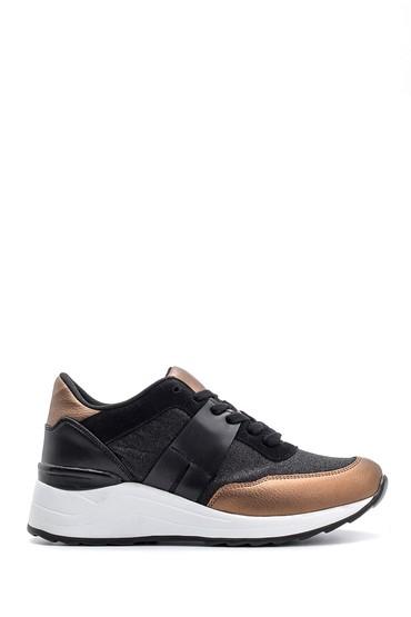 Siyah Kadın Sneaker 5638112109