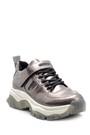 5638117559 Kadın Yüksek Tabanlı Rugan Detaylı Sneaker