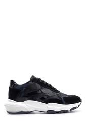 5638119060 Kadın Süet Detaylı Sneaker