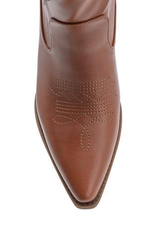 Kadın Topuklu Kovboy Çizme