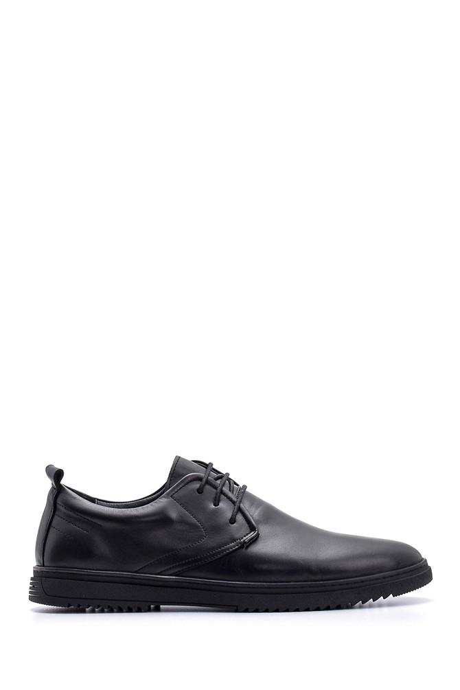 Siyah Erkek Deri Ayakkabı 5638083622
