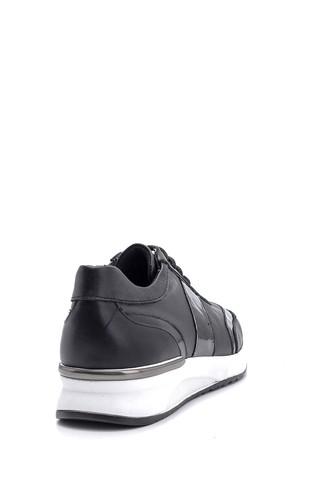 Kadın Rugan Detaylı Sneaker