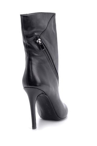 Kadın Deri Topuklu Bot