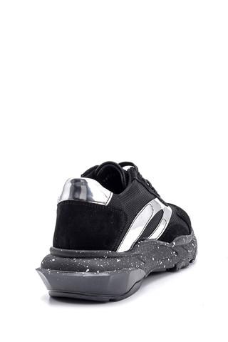 Kadın Süet Detaylı Sneaker