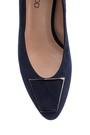 5638122613 Kadın Süet Deri Topuklu Ayakkabı