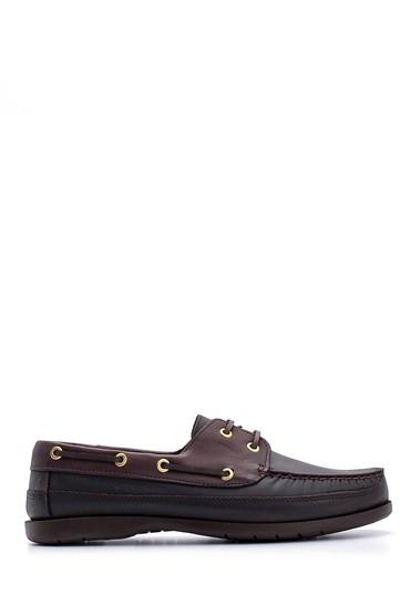 Kahverengi Erkek Deri Ayakkabı 5638148571