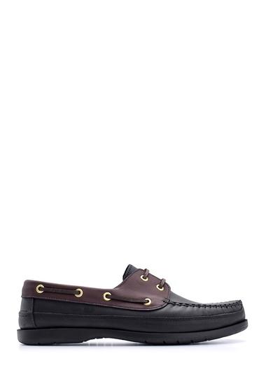 Siyah Erkek Deri Ayakkabı 5638148567