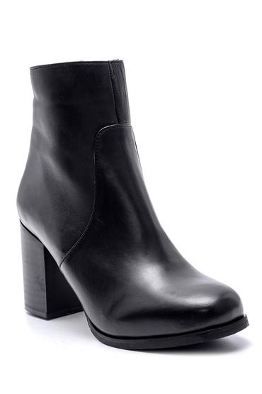 Siyah Kadın Topuklu Bot 5638105453