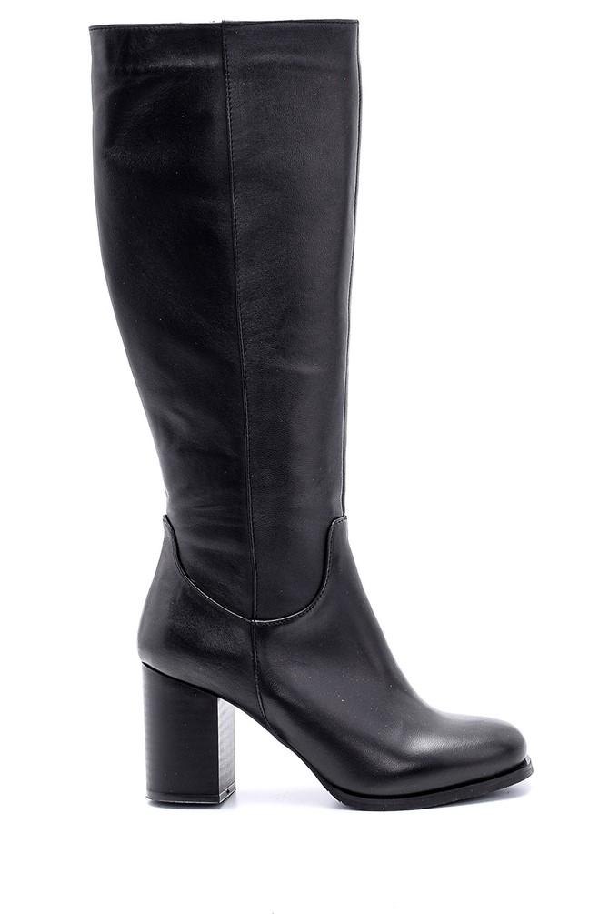 Siyah Kadın Topuklu Çizme 5638105477