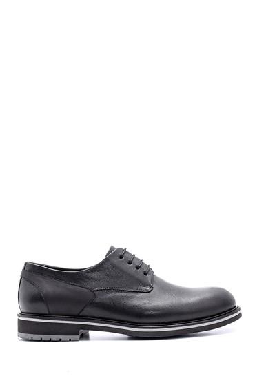Siyah Erkek Deri Ayakkabı 5638119005
